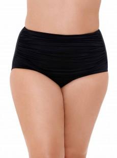 "Culotte de bain Noire Norma-Jean -Solid -  ""M"" - Miraclesuit Swimwear"