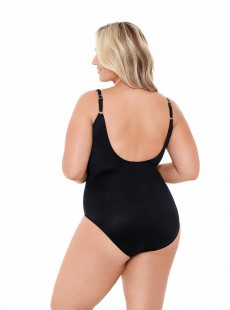 "Maillot de bain gainant Sanibel Noir - Must haves -  ""W"" -Miraclesuit Swimwear"