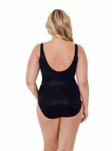 "Maillot de bain gainant Temptress Noir - Gilted As Charged - ""W"" -Miraclesuit Swimwear"