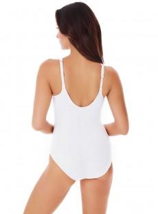 "Maillot de bain gainant Aphrodite blanc - Rock Solid - ""M"" - Miraclesuit swimwear"
