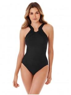 """Maillot de bain gainant Aphrodite Noir- Rock Solid - """"M"""" - Miraclesuit swimwear"""
