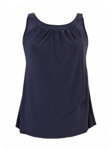 "Ursula Tankini Top Bleu Nuit - Illusionists - ""M"" -Miraclesuit Swimwear"