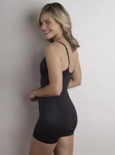 Combinaison panty noire - Moderate Control - Cupid Fine Shapewear