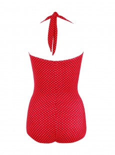 """Maillot de bain gainant Spellbound Pin Point Rouge - """"M"""""""