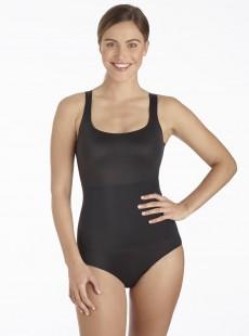 Body avec armatures tissu black - No side show - Cupid Fine Shapewear