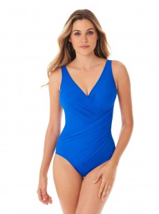 "Maillot de bain gainant Oceanus Bleu - Must Haves - ""FC"" - Miraclesuit Swimwear"
