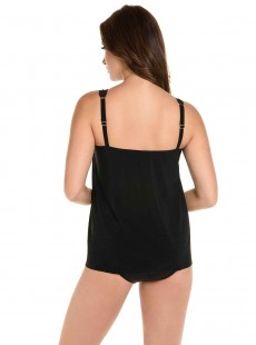 "Tankini Mirage Noir - Illustionists - ""FC"" - Miraclesuit Swimwear"