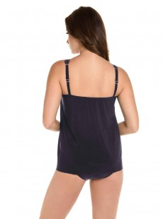 "Tankini Mirage bleu nuit - Illustionists - ""M"" - Miraclesuit Swimwear"