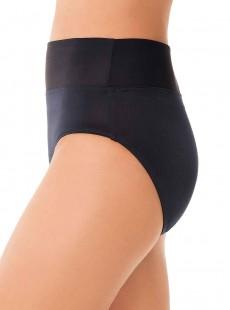 """Culotte de maillot de bain bleu nuit à revers - Solid - """"M"""" -Miraclesuit Swimwear"""