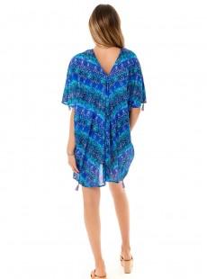 "Caftan Bleu - Blue Curacao - ""M"" - Miraclesuit swimwear"