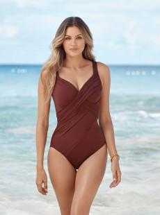 "Maillot de bain gainant Revele Tamarind - Rock Solid - ""M"" - Miraclesuit Swimwear"