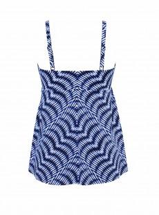 "Kami Tankini Top Bleu - Hypnotique - ""M"" - Miraclesuit swimwear"