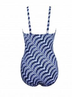 """Maillot de bain gainant Bette Bleu - Hypnotique - """"M"""" - Miraclesuit swimwear"""