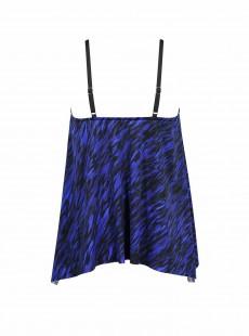 "Tankini Peephole bleu - Scheherazade - ""M"" - Miraclesuit Swimwear"