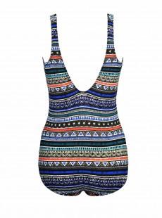 """Maillot de bain gainant Odyssey Multicolore - Portofino - """"M"""" - Miraclesuit swimwear"""