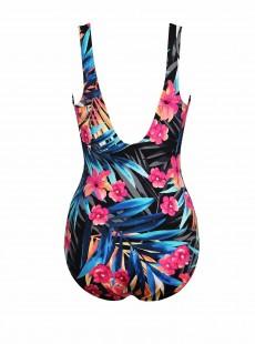 """Maillot de bain gainant Escape Colorblock Multicolore - Tropica -  """" M"""" - Miraclesuit swimwear"""