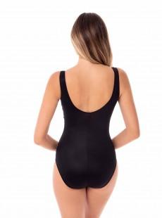 "Maillot de bain gainant Brio Bi-colore noir - Pyrite - ""M"" - Miraclesuit swimwear"