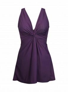 "Robe de bain gainante Marais VIolet - Must haves - ""W"" - Miraclesuit Swimwear"