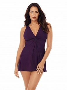 "Robe de bain gainante Marais VIolet - Must haves - ""W"" - Miraclesuit Swimwear"