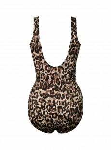 "Maillot de bain gainant Revele Leopard - Belle Gattino - ""M"" - Miraclesuit Swimwear"