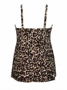 "Tankini Marina Leopard - Belle Gattino - ""M"" - Miraclesuit swimwear"