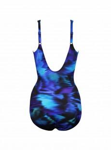 "Maillot de bain gainant Oceanus Imprimés Bleu - Nuage Bleu - ""M"" - Miraclesuit swimwear"