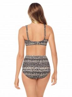 "Haut de maillot de bain plongeant - Golden Lynx -  ""M"" - Miraclesuit Swimwear"