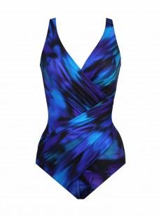 """Maillot de bain gainant Oceanus Imprimés à motifs Bleu - Nuage Bleu - """"FC"""" - Miraclesuit swimwear"""