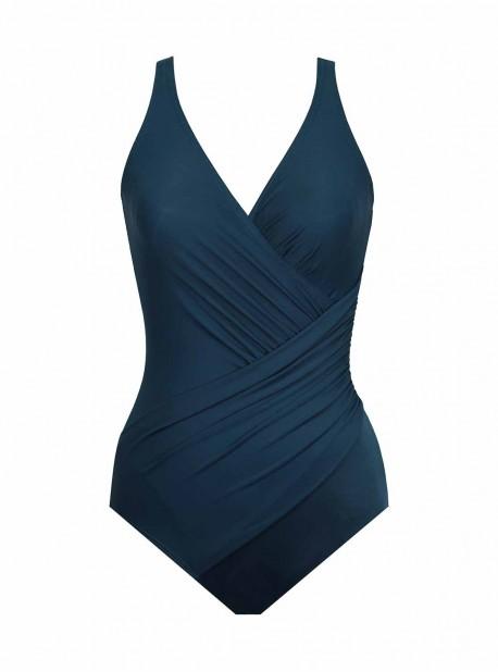 "Maillot de bain gainant Oceanus Bleu Turquoise - Must Haves - ""M"" - Miraclesuit swimwear"