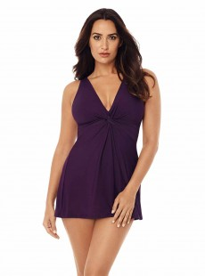 "Robe de bain gainante Marais Violet  - Must haves - ""M"" -Miraclesuit Swimwear"