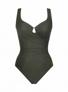 "Maillot de bain gainant Escape Kaki - Must Haves - ""M"" - Miraclesuit swimwear"