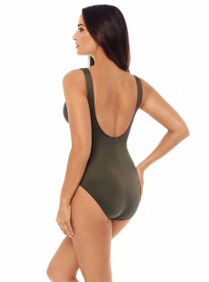 "Maillot de bain gainant Escape Kaki - Must Haves - ""M"" - Miraclesuit swimwear"