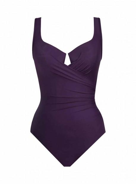 """Maillot de bain gainant Escape Violet - Must Haves - """"M"""" - Miraclesuit swimwear"""