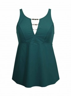 Tankini Nova Vert - Northern Lights - Amoressa