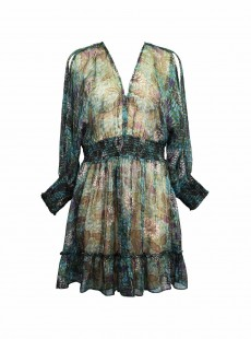 Robe Tango Vert - Rhiannon - Amoressa