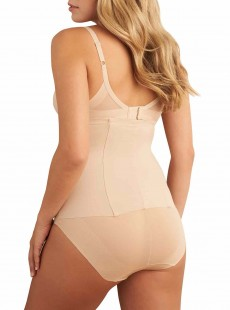 Ceinture gainante taille haute Nude - Zip Smooth - Miraclesuit Shapewear