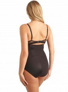Culotte gainante taille haute Noire - Zip Smooth - Miraclesuit Shapewear