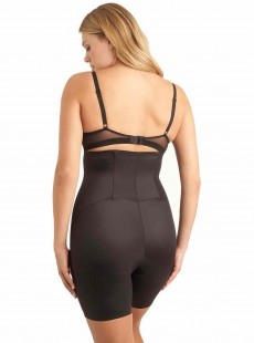 Panty gainant taille haute Noir - Zip Smooth - Miraclesuit Shapewear