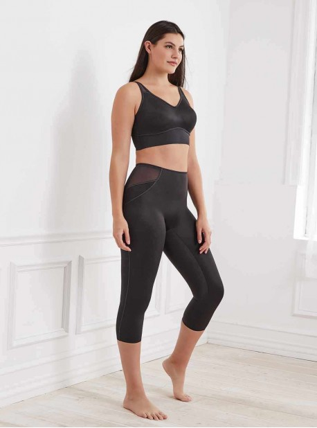 Legging gainant taille haute Noir - Fit & Firm - Miraclesuit Shapewear