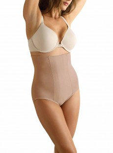 Culotte gainante taille haute stucco - Shape with an Edge - Miraclesuit Shapewear