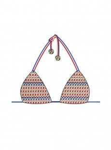 Haut de maillot de bain triangle bikini - American Dream - Luli Fama