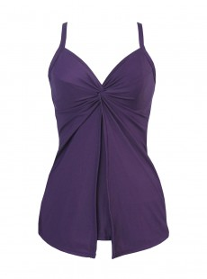 "Tankini Love Knot Prune Grands Bonnets - ""FC"" - Miraclesuit"