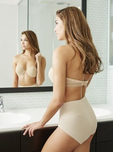 Culotte gainante mi-haute nude - Shape Away