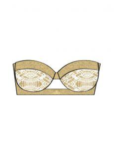 Haut de maillot de bain Bandeau - Muchachita Linda - Luli Fama
