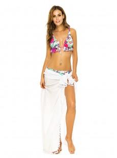 Pareo Blanc Multi Usage - Beachwear - Phax