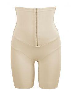 Panty taille haute gainant nude avec ceinture agrafes intégrée - Inches Off