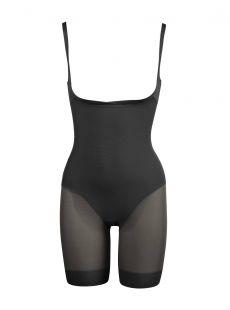 Combinaison panty gainante noire - Sexy sheer - Miraclesuit Shapewear