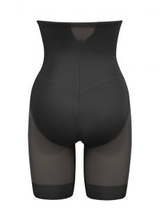 Panty gainant taille haute noir - Sexy Sheer Shaping - Miraclesuit Shapewear