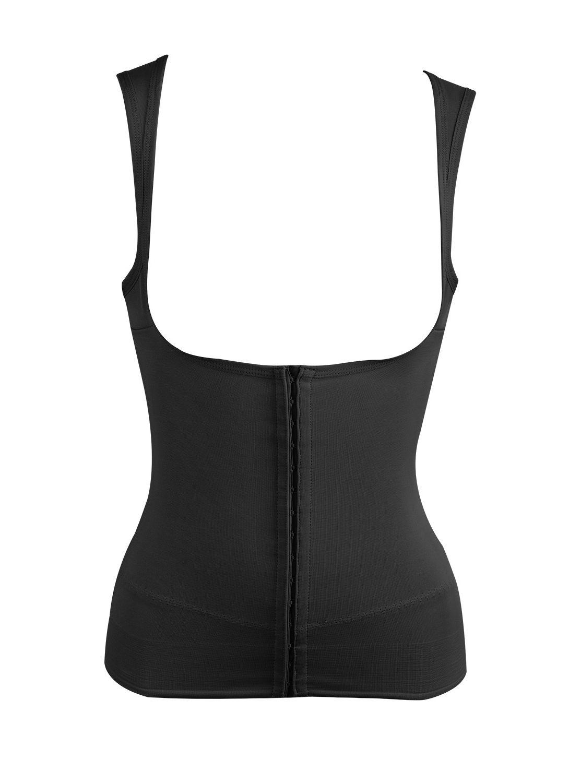 3967edb99e6 Ceinture gainante noire avec bretelles - Inches Off - Miraclesuit Shapewear.  Loading zoom