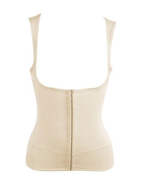Ceinture gainante nude avec bretelles - Inches Off - Miraclesuit Shapewear